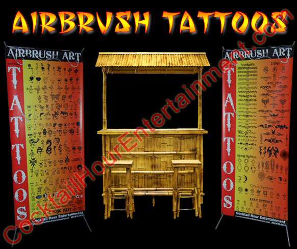 Bar Mitzvah Airbrush Tattoos