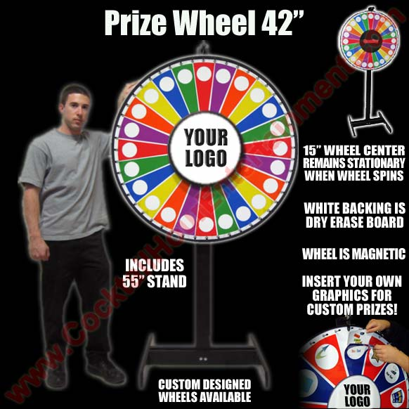 Bar Mitzvah Prize Wheels
