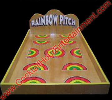 carnival rainbow pitch game