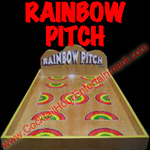 rainbow pitch carnival game