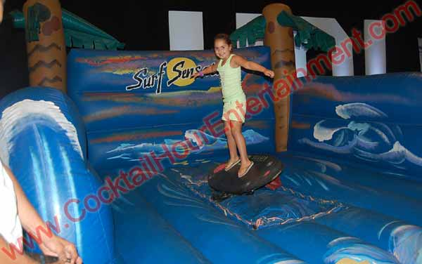 Bar Mitzvah Surfboard Simulator