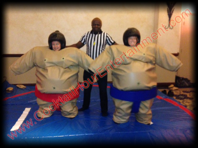 Bar Mitzvah Sumo Suits